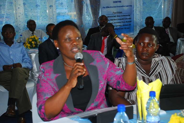 Former Sheema Woman MP Rosemary Nyakikongoro has lashed out at over a women's project (FILE PHOTO)