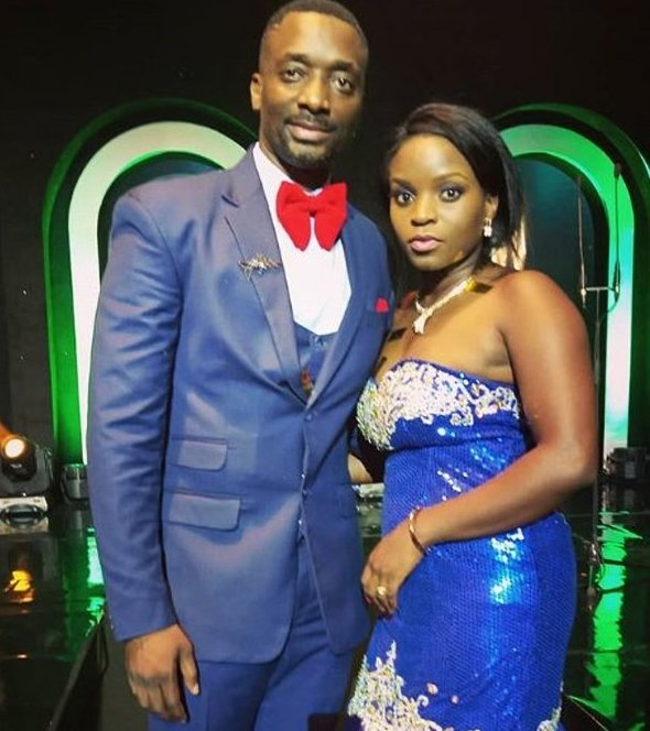 Uganda's film gurus, Matthew and Eleanor Nabwiso returned medalless at the highly competitive AMVCA awards held in Nigerian capital, Lagos (FILE PHOTO)