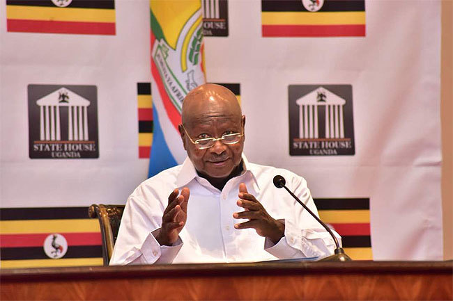 President Yoweri Museveni on Sunday delivers a multi-faced address on the state of affairs in the country September 9 (FILE PHOTO)
