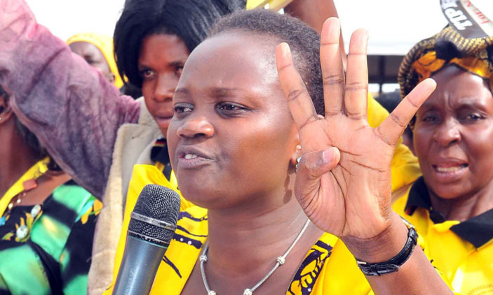 Former NRM candidate for the Arua Municipality by-election, Nusura Tiperu has petitioned court moving for the nulification of the the victory of Kassiano Wadri (Independent) (FILE PHOTO)
