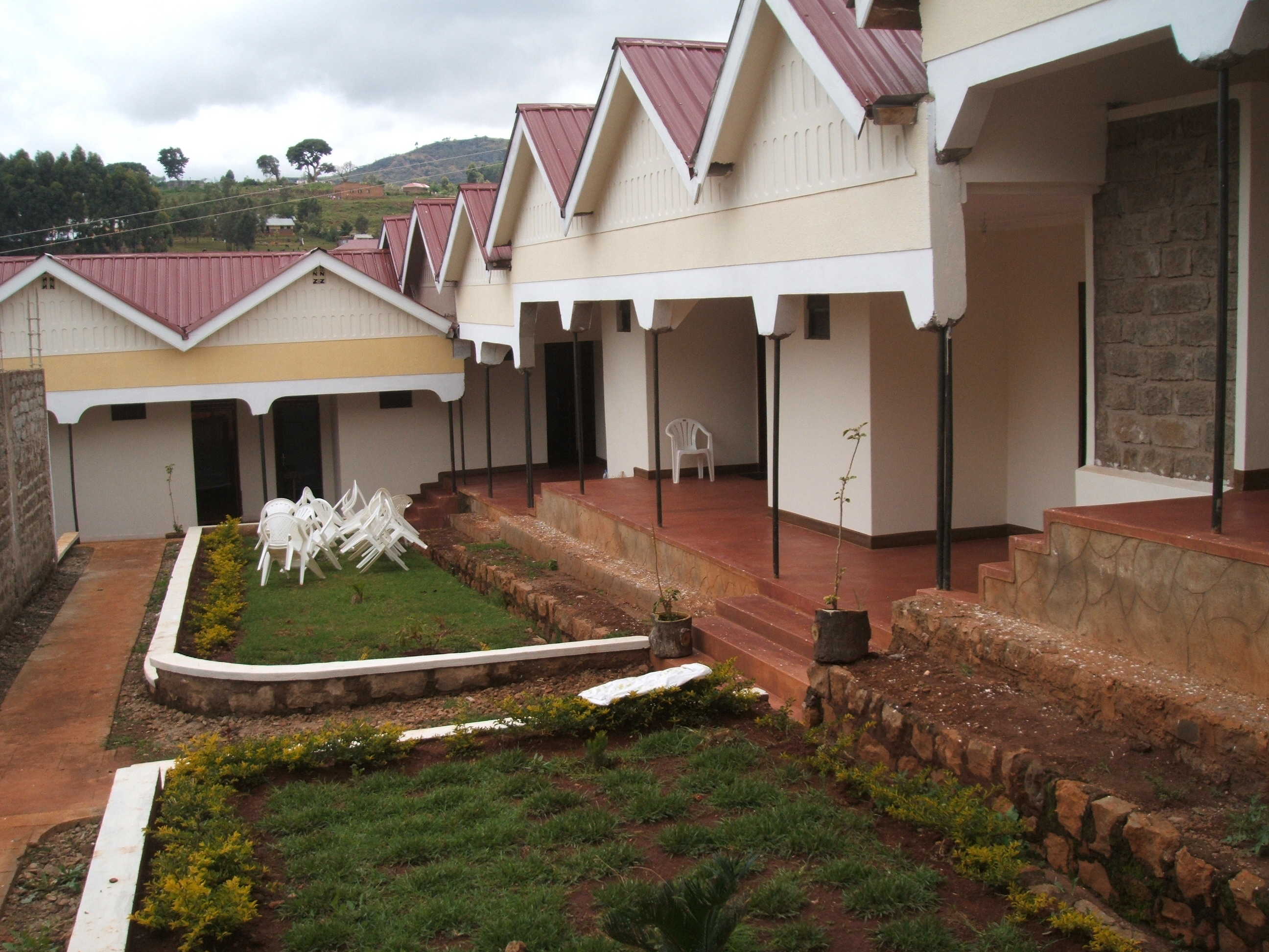 The side view of the Noah's Ark is the hotel Kapchorwa. (Photo by David Mafabi)
