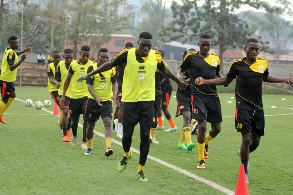 The Cranes started training on Saturday morning (File Photo