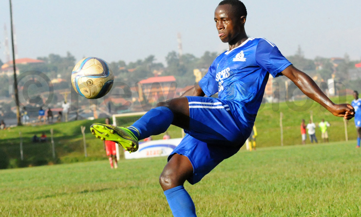 Wangi has been at Vipers since 2015 (file photo)