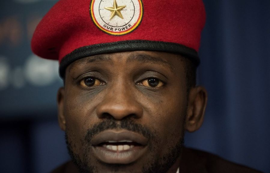 Kyadondo East MP Robert Kyagulanyi alias Bobi Wine has launched the People Power Ghana Chapter FILE PHOTO)