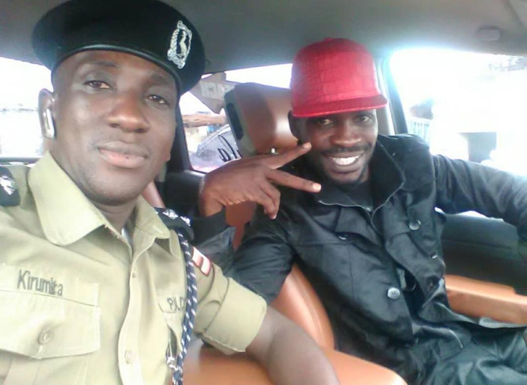 Ailing Kyaddonda East MP Robert Kyagulanyi alias Bobi Wine and the slain ex-DPC Buyende Muhammad Kirumira (FILE PHOTO)