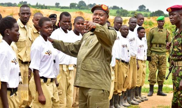 President Museveni  has summoned Crime Preventers to Kyankwanzi as part of efforts to fast-track the group's mutation into the LDU (FILE PHOTO)