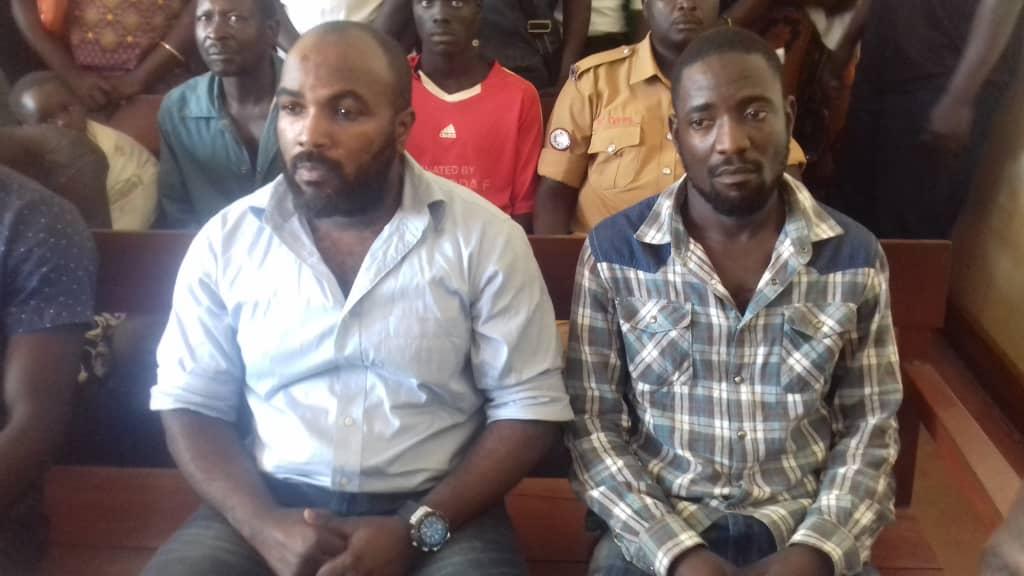 Bobi Wine's bodyguard,  Edward Ssebuwufu alias Eddie Mutwe has been granted bail by Gulu High Court judge Stephen Mubiru has on Tuesday, October 16 (FILE PHOTO)