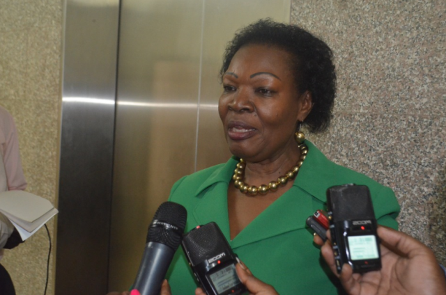 Mitooma Woman MP Jovah Kamateeka tabled the report on behalf of Ayivu County MP Bernard Atiku, expressing dissatisfaction over the torture of legislators by the Police and UPDF (FILE PHOTO)