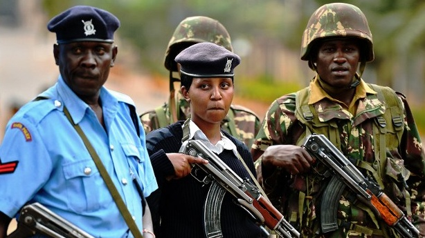 Kenya Police has arrested two soldiers attached to the UPDF Marines Fish Protection unit over illegal entry (FILE PHOTO)