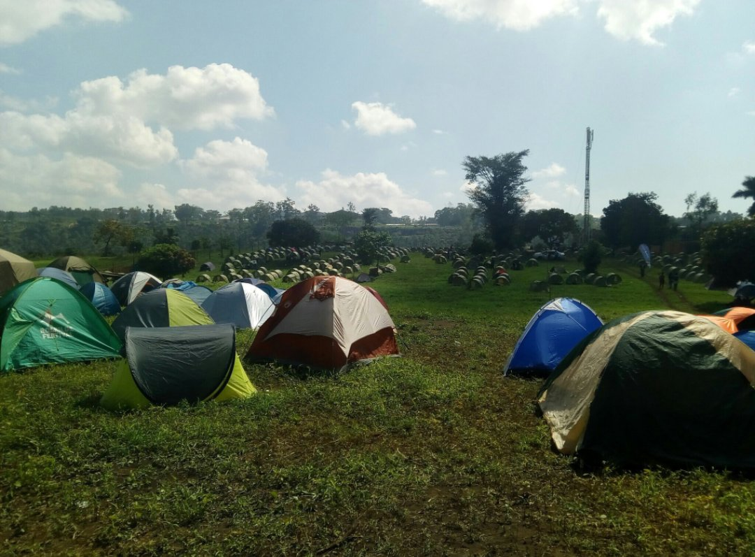 Many opted out for tents as the accommodation shortage hit the just concluded Nyege Nyege Festival in Jinja (FILE PHOTO)