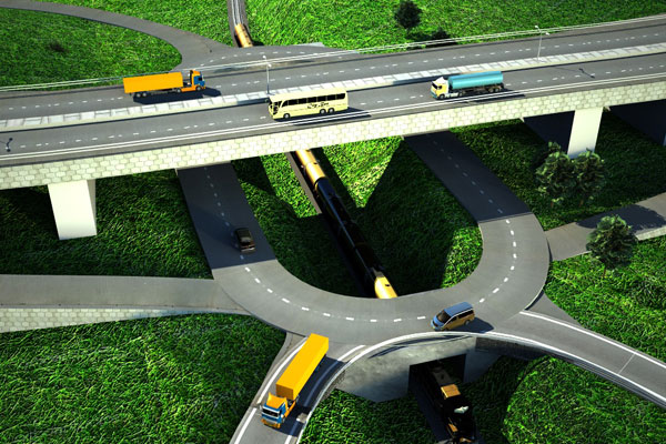 The Artistic impression of the Kampala - Jinja Expressway (UNRA PHOTO)