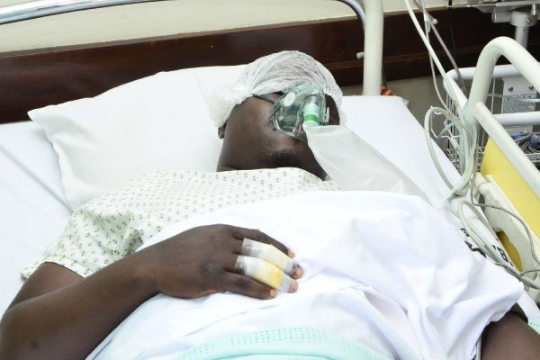 Ailing Mityana Municipality MP Francis Zaake has been charged for treason and offered temporary freedom to fly out for medical treatment September 03 (FILE PHOTO)