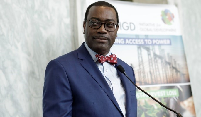African Development Bank (AfDB) president, Akinwumi Adesina has urged Power giants to utilize women's capacities to grow the sector (FILE PHOTO)