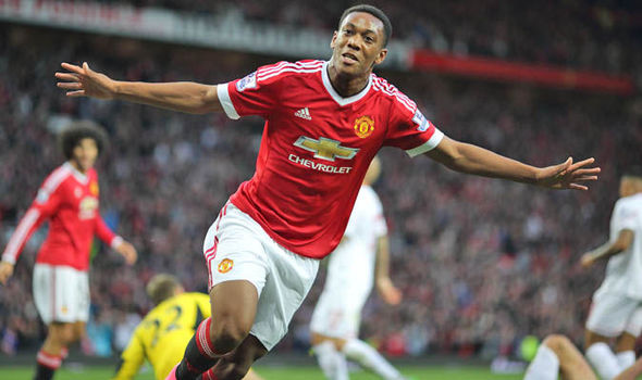 The unstoppable Anthony Martial (PHOTO/File)