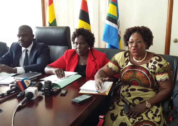 The leader of opposition in Parliament Betty Aol Achan will embark opposition countrywide tour. (FILE PHOTO)