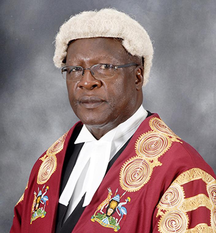 Chief Justice Bart Katurebe (FILE PHOTO)