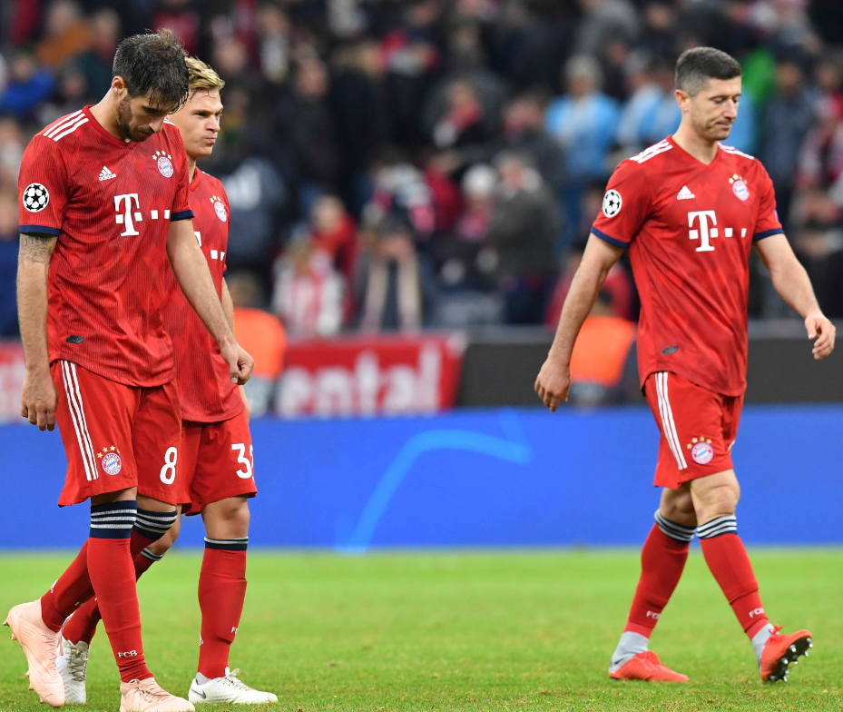 Bayern have gone four game with out a win in all competitions