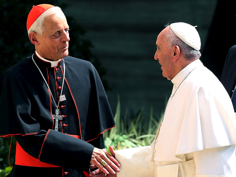 Pope Francis accepts resignation Of D.C. Archbishop Donald Wuerl amid Sex Abuse Crisis (AGENCIES PHOTO)