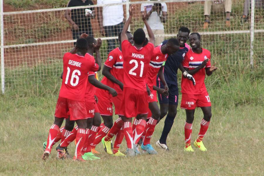 Kirinya JSS lost 2-0 away to URA in their last game (file photo)