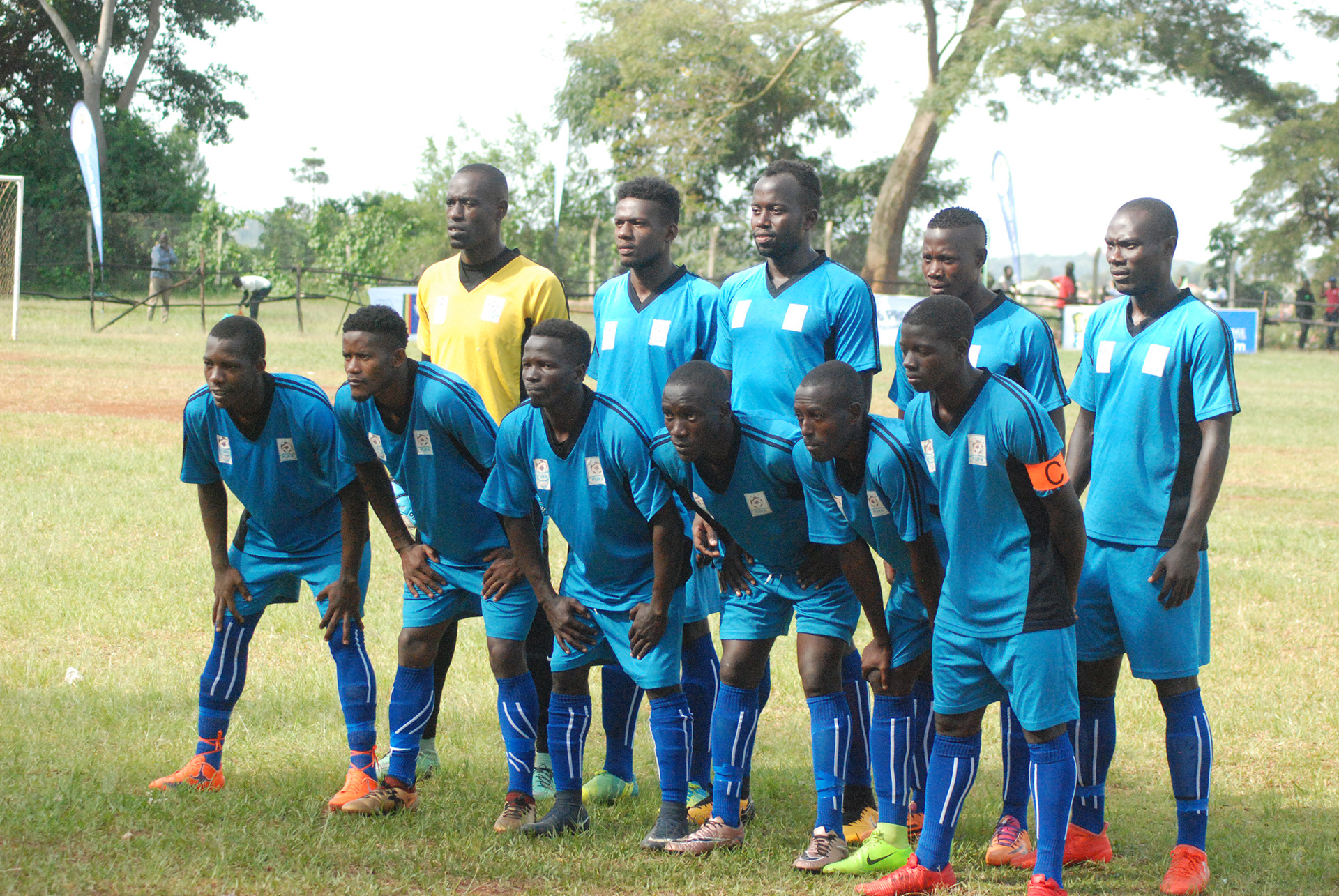 Buganda team that started against West Nile on Sunday (Photo by FUFA media)
