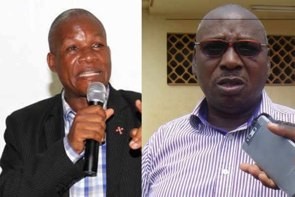 Ex-Ishaka-Bushenyi Municipality MP, Oddo Tayebwa and the Mbarara district FDC chairperson, Stanley Katembeya have been arrested in suspencion of electoral mal-practice in the ongoing Sheema North By-Elections (FILE PHOTO)