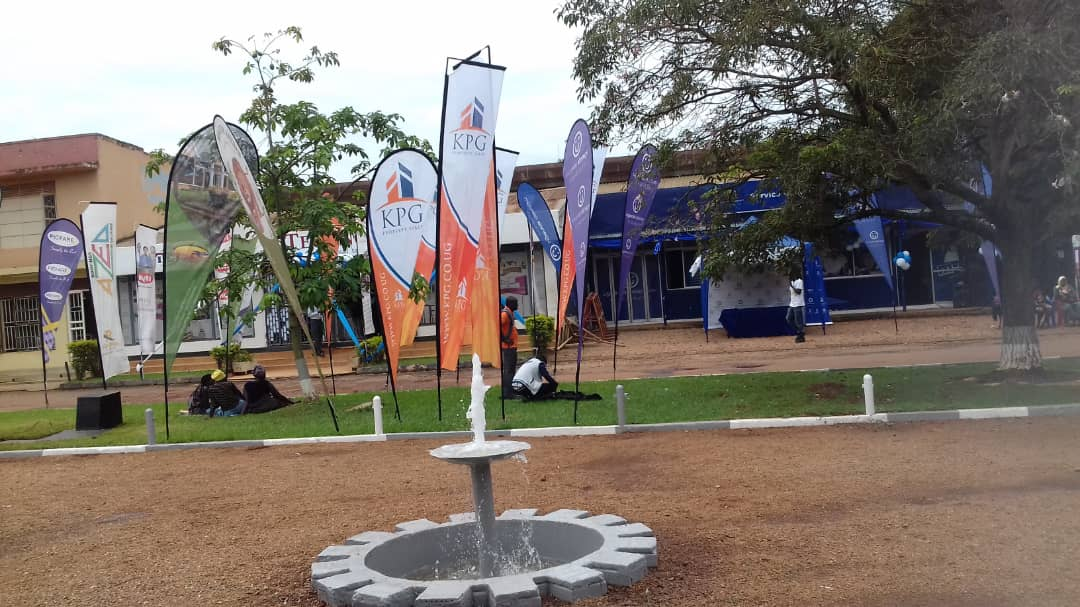Several tents at the UMA show grounds Lugogo as exhibitors showcase/display their itemsn (PML DailY PHOTO)