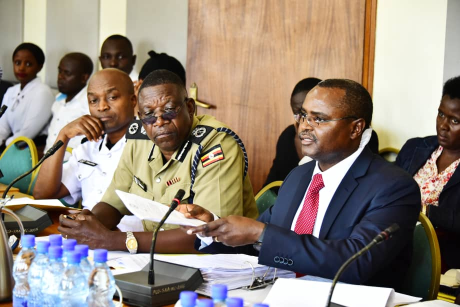 Uganda Police Force Accounting Officer Rogers Muhirwa, attributed most of the arrears highlighted in the report to insufficient budget allocation to utilities including rent, telecommunication, water and electricity (PML Daily PHOTO)