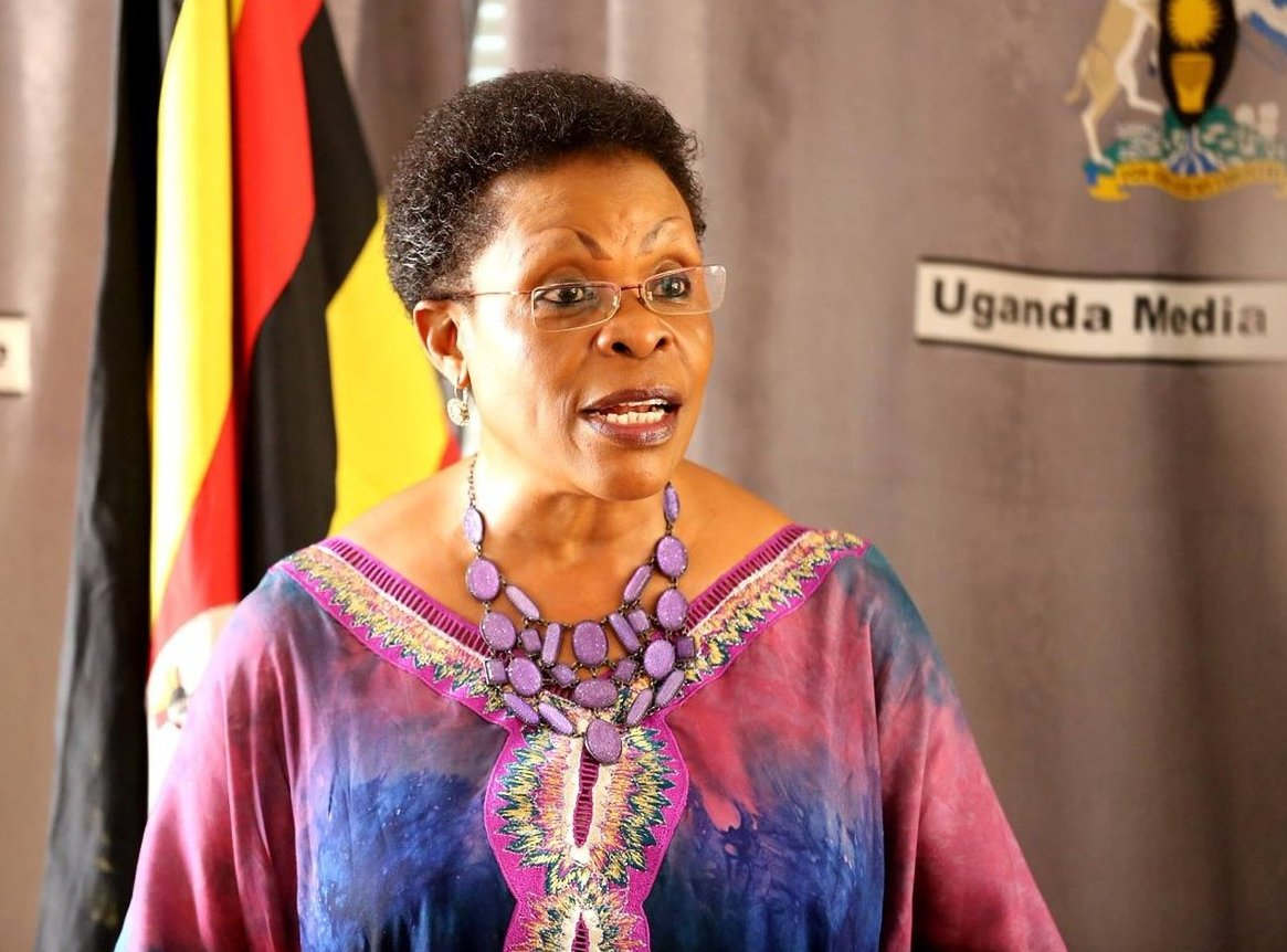 Kampala Minister Beti Kamya has urged Jennifer Musisi's to waterdown their excitement over her recent notice of resignation (PML DAILY PHOTO)