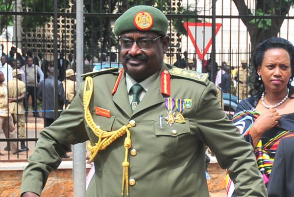 Gen. David Tinyefuza Sejusa is set to be retired as UPDF sends home 17 Army officers (FILE PHOTO)