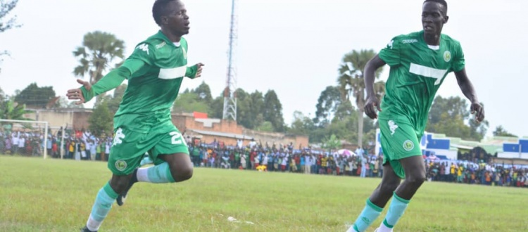 Sekajugo (left) scored a brace against Kirinya on Tuesday