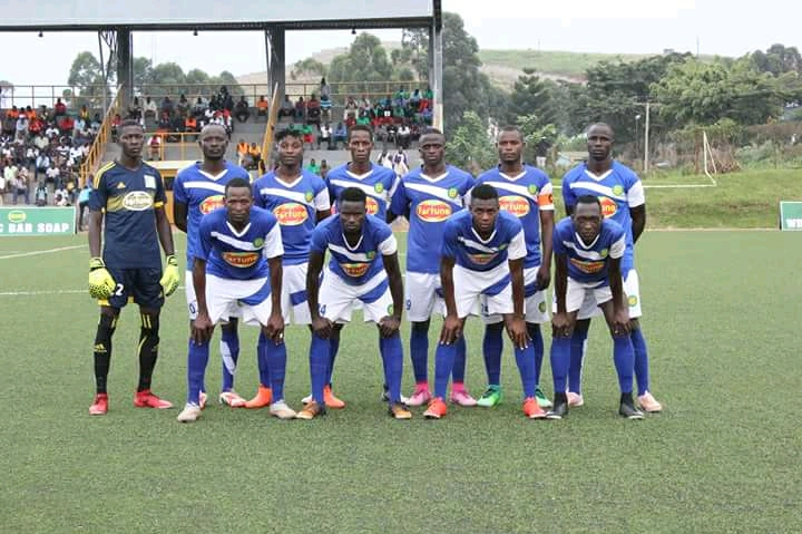 The Bul team that started the 1-0 loss to Tooro in their last game (file photo)