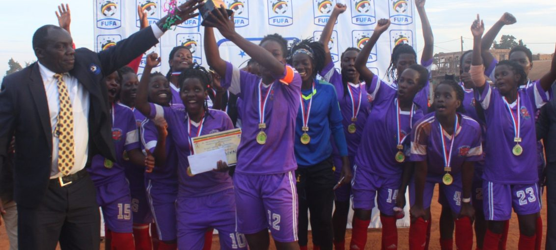 UCU Lady Cardinals have now won two trophies this year (photo by FUFA media)