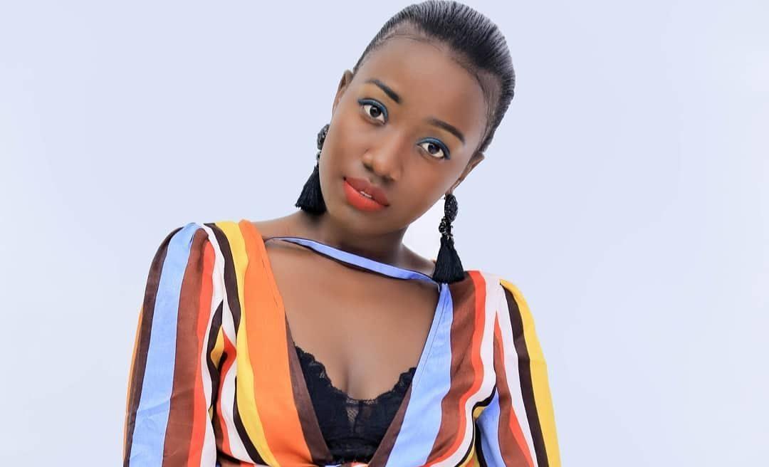Ugandan female artist Lydia Jazmine