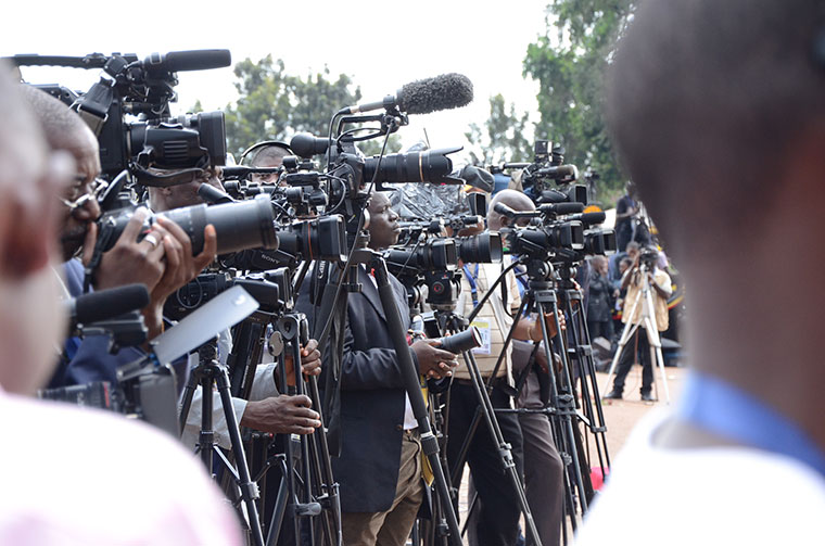 Majority of journalists in Uganda earn peanuts. (PHOTO/File)