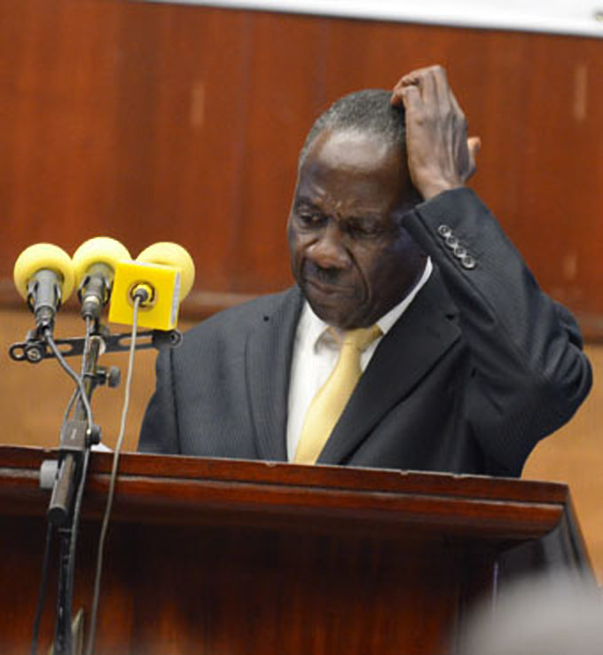 Finance minister Matia Kasaija is expected to brief Parliament on the state of Uganda's debt today