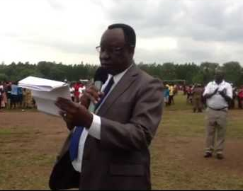 Commissioner for Physical Education in the Ministry of Education and Sports, Mr Omara Apiita has been thrown in the coolers for failing to account for over Shs665m meant for construction of the Akii-Bua Memorial Stadium.(FILE PHOTO)