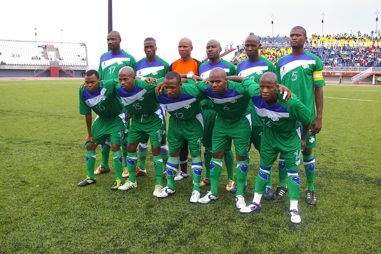 Lesotho are second in Group L