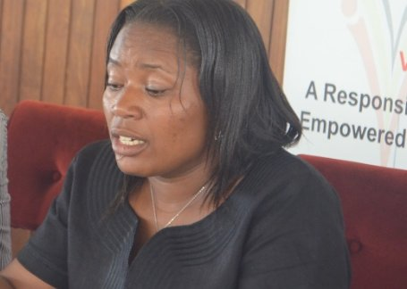 Kanungu district woman MP Elizabeth Karungi speaks out on allegedly poisoning a parliament staff (FILE PHOTO)