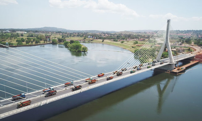 UNRA set to launch Nile Bridge after successfully passing test. (PML Daily Photo)