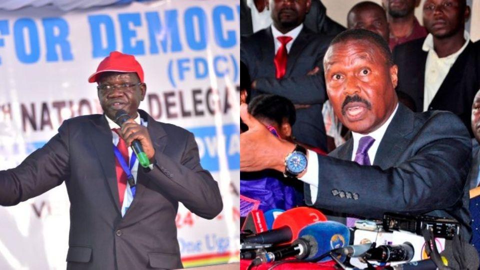 Patrick Amuriat's FDC has announced an audit into the party's membership following Mugisha Muntu' exit last week (FILE PHOTO)