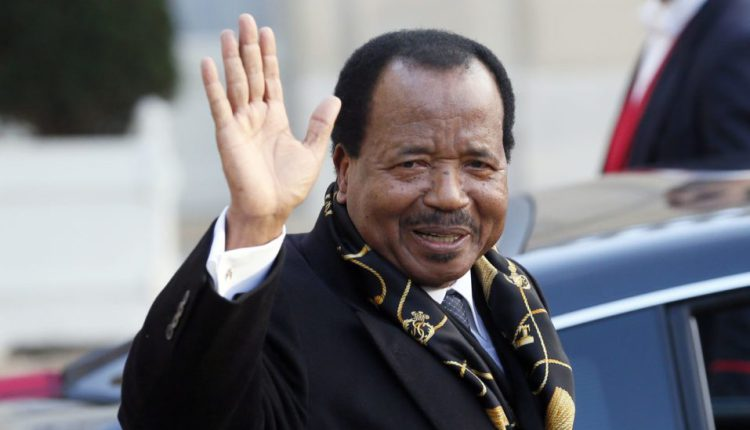 Africa's oldest president Paul Biya