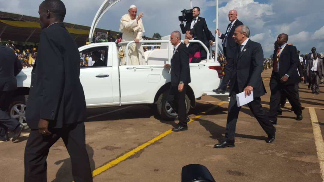 Pope in Uganda, November 2015; Photos by Alex B. Atuhaire