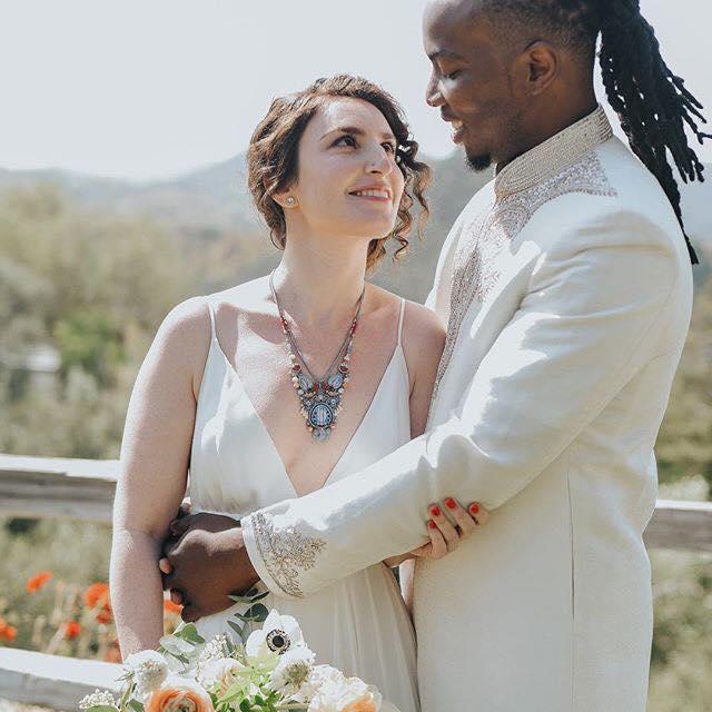 Rapper GNL Zamba wedded white woman in