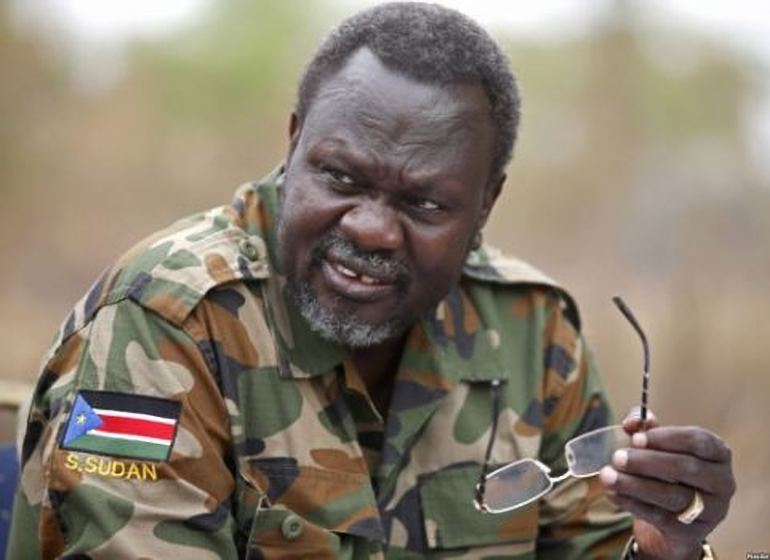 South Sudan rebel leader Riek Machar has, on Wednesday Morning October 31 returned to Juba for the first time since (FILE PHOTO)