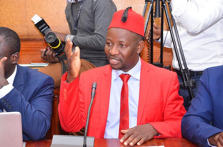 FDC Party Spokesperson,  Ibrahim Semujju Nganda,.(FILE PHOTO)