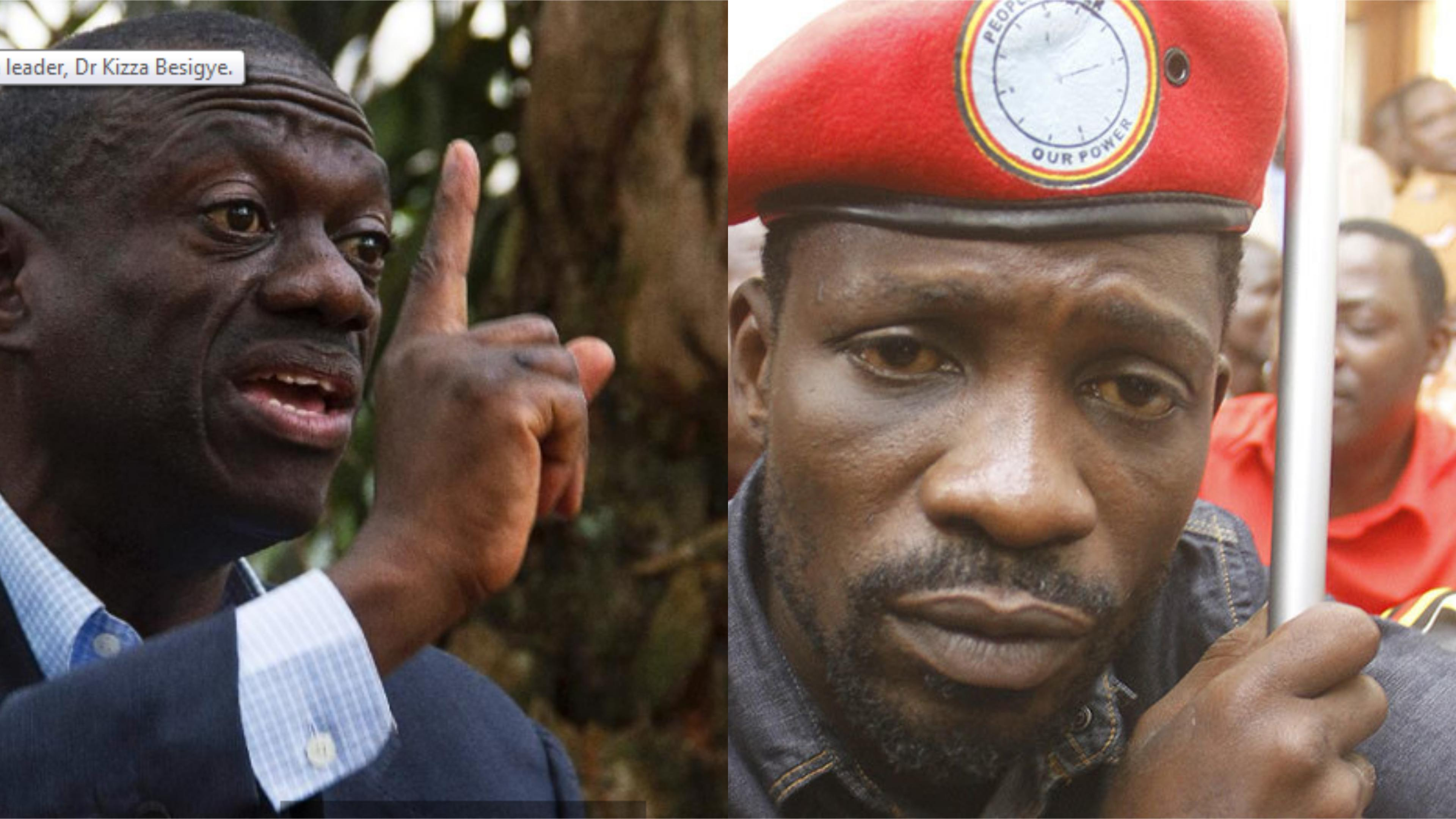 Former presidential candidate Dr Kizza Besigye has refuted claims that he is afraid on Kyadondo East MP Robert Kyagulanyi alias Bobi Wine's fast rise on the  Ugandan Political scene (FILE PHOTO)