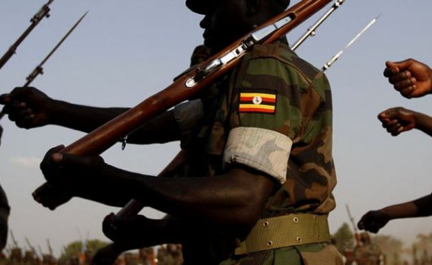 A UPDF soldier goes on rampage robbing a mobile money Agent (FILE PHOTO)