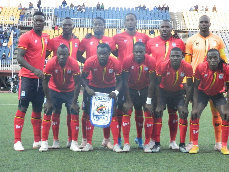 The Cranes defeated Lesotho 2-0 in Maseru