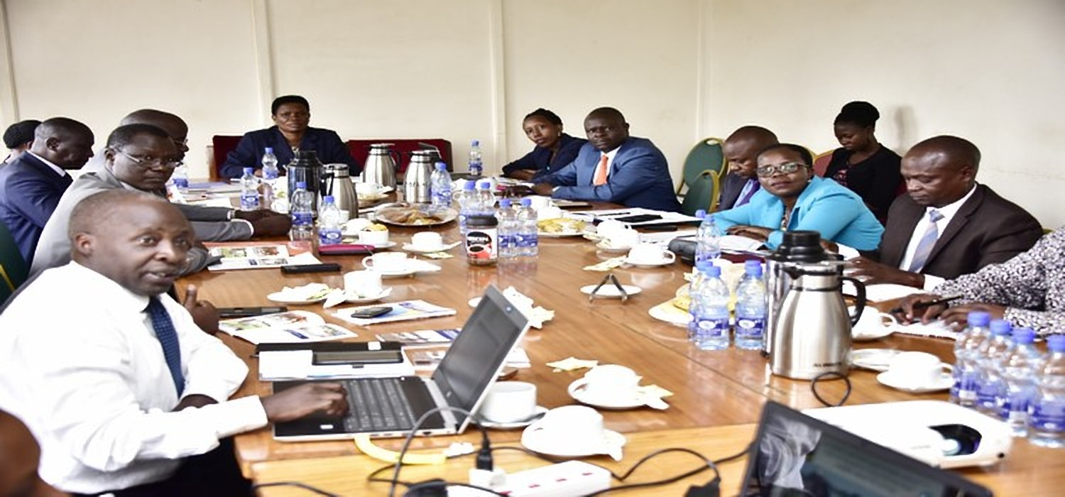 Ministry of Agriculture officials under the Pastoral Livelihoods project appearing before parliamentary committee to explain the delays of the project (PML Daily PHOTO)