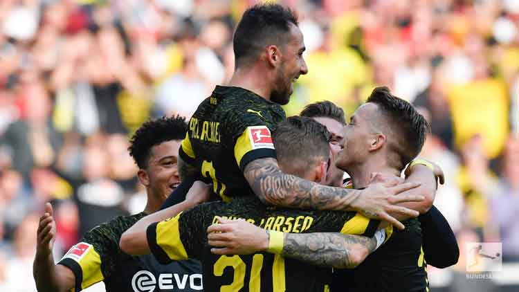 Dortmond are the only unbeaten side in the Bundesliga this season